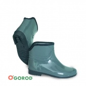 Warm women's PVC ankle boots art. 14(C)180Y